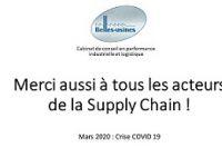 Lire la suite: COVID-19 : le grand chambardement de la Supply Chain
